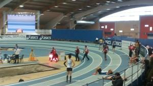 Atleti al palaindoor (Padova), campionati italiani febbraio 2015