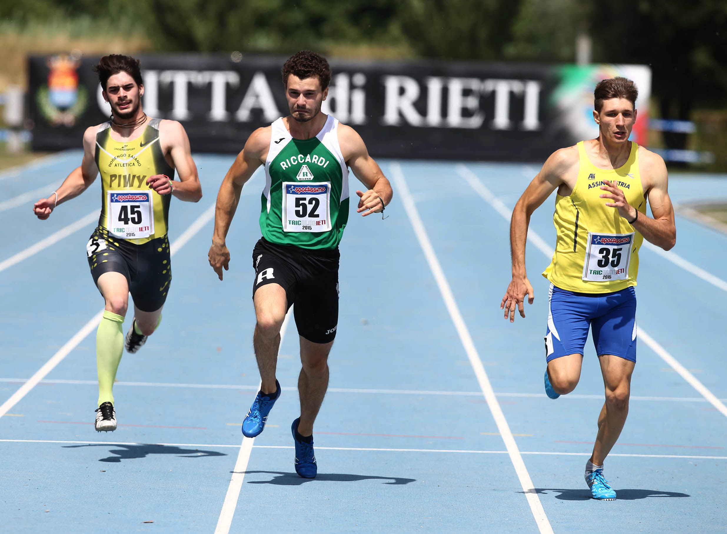 Cortellazzo, sprint d'oro