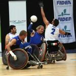 Raduno di wheelchair rugby a Padova