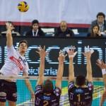 Tonazzo, netta sconfitta a Perugia