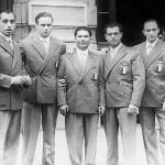 """I """"Quattro moschettieri padovani"""" d'argento a Londra nel 1948"""