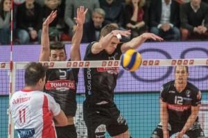 Orduna e Volpato murano Zlatanov nell'ultima sfida contro Piacenza