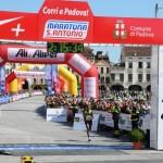 Maratona di Sant'Antonio, Pertile contro l'Africa