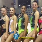 Alfa Maserà: 9 medaglie nei campionati federali di ginnastica ritmica