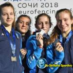 Scherma: medaglie padovane ai campionati europei giovanili di Sochi e al trofeo Kinder+Sport