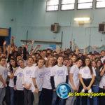 Carlo Molfetta, olimpionico di taekwondo, alla scuola media Tartini di Padova