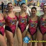Nuoto sincronizzato: Ondine Master C.S. Plebiscito terze ai campionati italiani