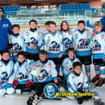 Hockey ghiaccio: settimo posto per i Waves U9 al Trofeo Internazionale di Cortina
