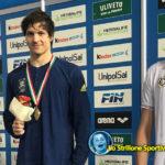 Nuoto: Matteo Furlan è medaglia di bronzo ai campionati italiani di fondo indoor
