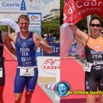 Triathlon di Caorle : vincono Marco Corrà ed Elisa Marcon