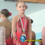 Pattinaggio artistico ghiaccio: Alessia Piasentini primo posto nella gara élite a Pinzolo