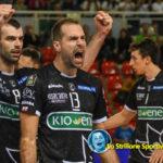 Supervolley: reazione Kioene, battuta Monza