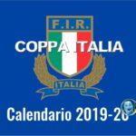 Rugby Coppa Italia: il calendario 2019-20