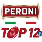 Rugby: Peroni Top12 al via il 19 ottobre, Coppa Italia il 28 settembre