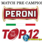Rugby Peroni Top12: test match precampionato per FemiCZ e Argos